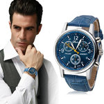 Mannen horloge Luxury Fashion Blauw