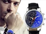 Mannen Horloge Luxury Fashion Blue Black Editon